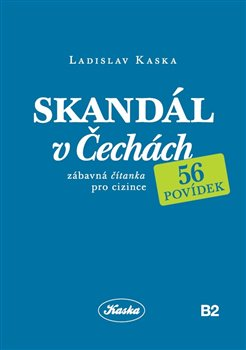 Obálka titulu Skandál v Čechách