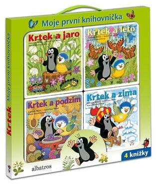 Krtek - Moje první knihovnička - Hana Doskočilová, | Booksquad.ink