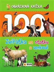 Obrázková knížka - Zvířátka na statku a venkově