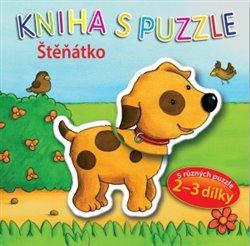 Obálka titulu Štěňátko - Kniha s puzzle