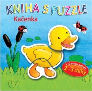 Kačenka - Kniha s puzzle - - | Booksquad.ink