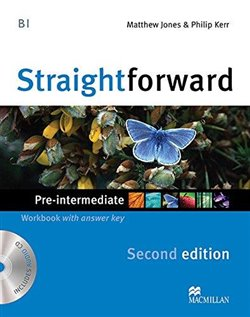 Obálka titulu Straightforward Second Edition Pre-intermediate Workbook With Key