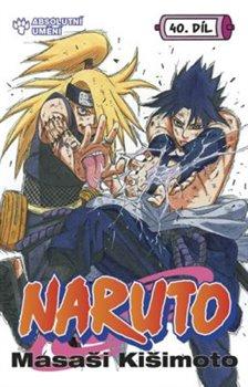 Obálka titulu Naruto 40: Absolutní umění