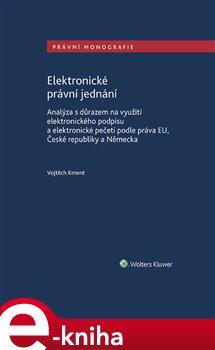 Obálka titulu Elektronické právní jednání