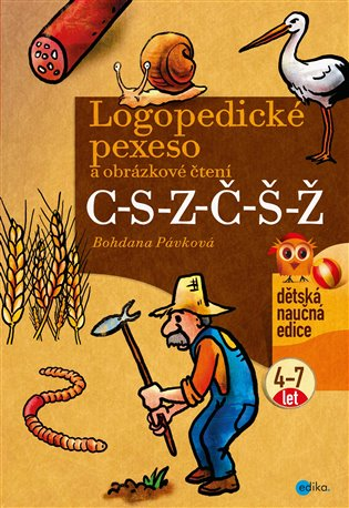 Logopedické pexeso a obrázkové čtení C-S-Z-Č-Š-Ž - Bohdana Pávková | Booksquad.ink