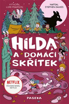 Obálka titulu Hilda a domácí skřítek