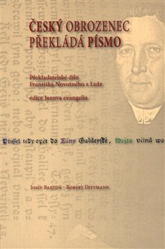 Obálka titulu Český obrozenec překládá Písmo