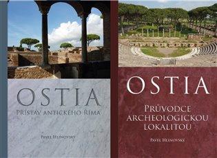 Ostia - komplet:Svazek 1:Přístav antického Říma, svazek 2: Průvodce archeologickou lokalitou - Pavel Hlinovský   Booksquad.ink