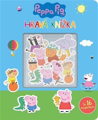 Peppa Pig - Hravá knížka - - | Booksquad.ink