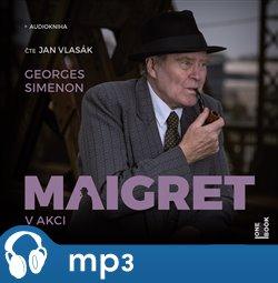 Obálka titulu Maigret v akci