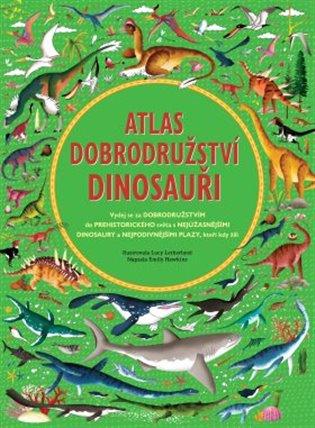 Atlas dobrodružství - Dinosauři - Emily Hawkins | Booksquad.ink
