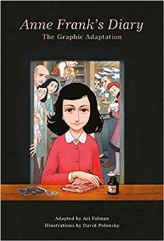 Obálka titulu Anne Frank´s Diary: The Graphic Adaptation
