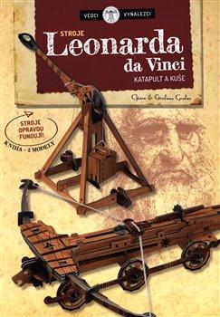 Obálka titulu Stroje Leonarda da Vinci
