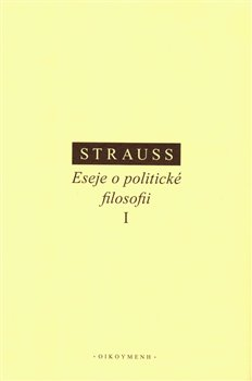 Obálka titulu Eseje o politické filosofii I