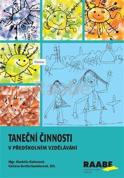 Obálka titulu Taneční činnosti v předškolním vzdělávání