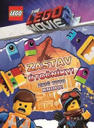 Lego Movie 2 Zastav útočníky! Znič tuto knihu! - -   Booksquad.ink