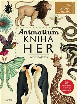Obálka titulu Animalium - kniha her
