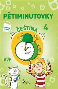 Obálka titulu Pětiminutovky čeština 4. třída