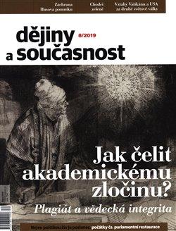 Obálka titulu Dějiny a současnost 8/2019