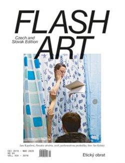 Obálka titulu Flash Art 54/2019
