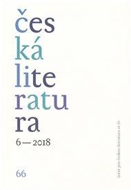 Česká literatura 6/2018