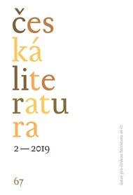 Česká literatura 2/2019