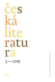 Česká literatura 3/2019