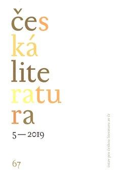 Obálka titulu Česká literatura 5/2019