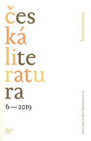 Česká literatura 6/2019