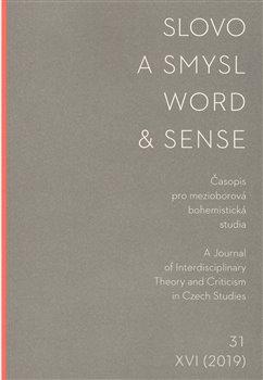 Obálka titulu Slovo a smysl 31/ Word & Sense 31