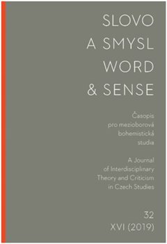 Slovo a smysl 32/ Word & Sense 32