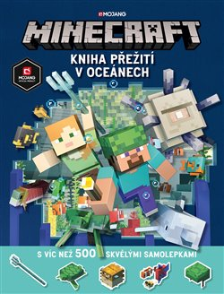 Obálka titulu Minecraft - Kniha přežití v oceánech