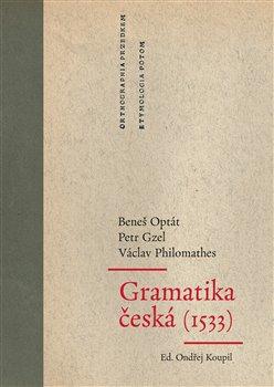 Obálka titulu Gramatika česká (1533)