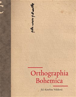 Obálka titulu Orthographia Bohemica