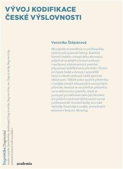 Obálka titulu Vývoj kodifikace české výslovnosti