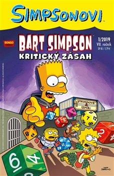 Obálka titulu Bart Simpson 1/2019: Kritický zásah