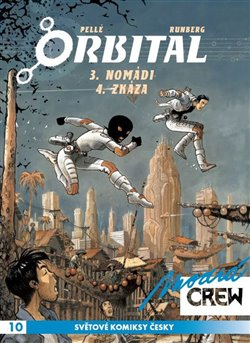 Obálka titulu Modrá CREW 10: Orbital 3+4
