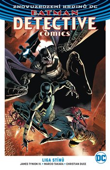 Obálka titulu Batman Detective Comics 3: Liga stínů