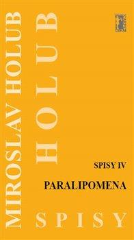 Obálka titulu Paralipomena (Spisy IV)