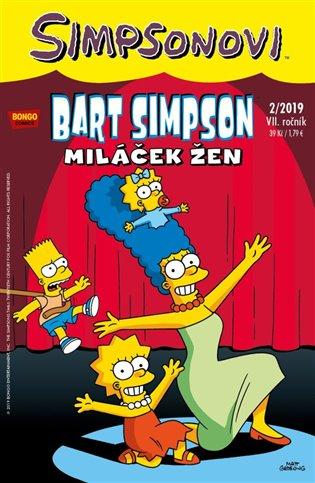 Bart Simpson 2/2019: Miláček žen - -   Booksquad.ink