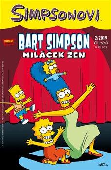 Obálka titulu Bart Simpson 2/2019: Miláček žen