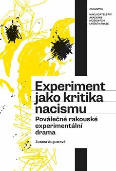 Obálka titulu Experiment jako kritika nacismu