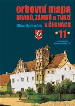 Obálka titulu Erbovní mapa hradů, zámků a tvrzí v Čechách 11