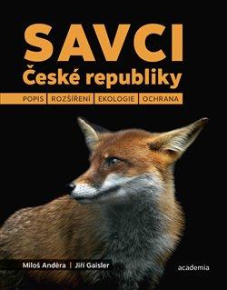 Obálka titulu Savci České republiky