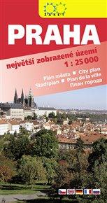 Praha 2018. Největší zobrazené území