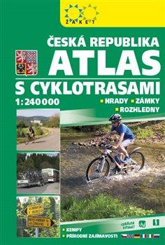 Obálka titulu Atlas ČR s cyklotrasami 2018