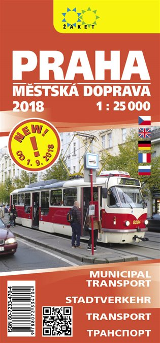Praha-městská doprava 2018
