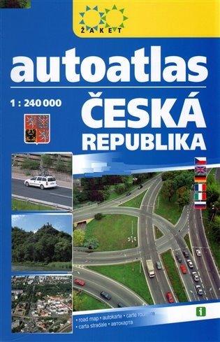 AUTOATLAS ČR 1:240 000 A5 2019