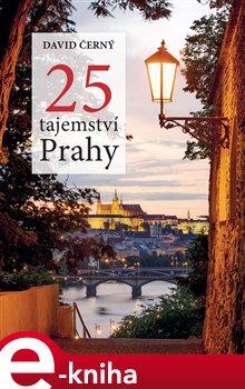 Obálka titulu 25 tajemství Prahy