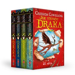 Obálka titulu Jak vycvičit draka: 1.–4. díl série (box)